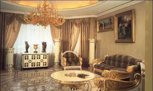 Пример дизайна комнаты в стиле кантри.  Ламинат на полу прекрасно...